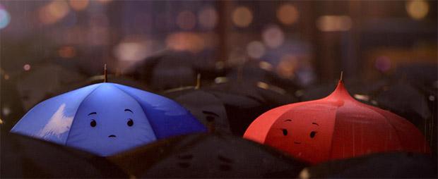 Pixar Parapluie bleu