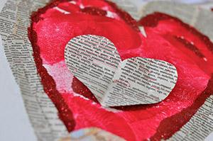 Saint valentin créatif